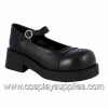 CRUX-07 Black Faux Leather